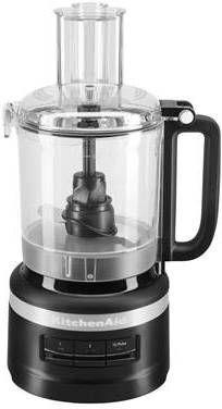 KitchenAid Foodprocessor keukenmachine 2,1 liter 5KFP0919 Mat zwart online kopen