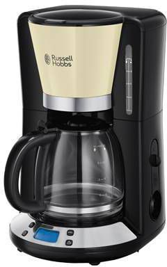 Russell Hobbs Koffiezetapparaat Colours Plus 1100 W 1,25 L crèmekleur online kopen