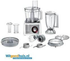 Bosch MC812S820 Keukenmachines en mixers Wit online kopen