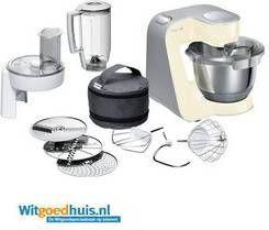 Bosch MUM5 CreationLine MUM58920 Keukenmachine Vanille online kopen
